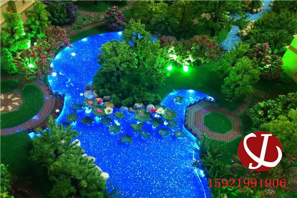 水景灯光模型