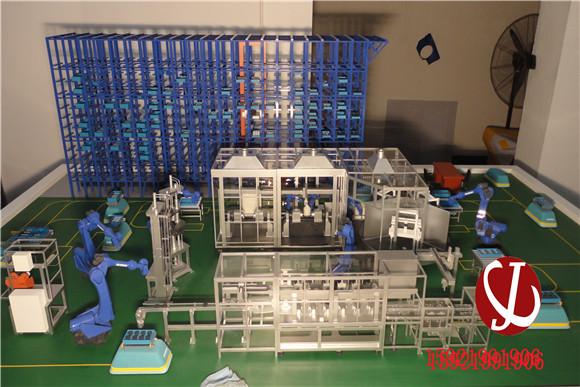 生产线模型5