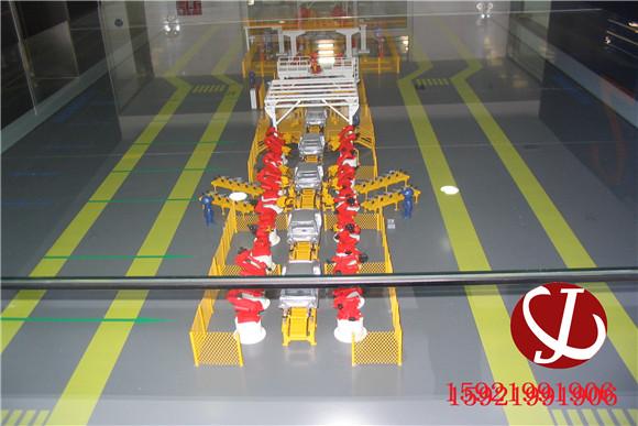 汽车生产线模型