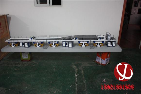 生产线模型