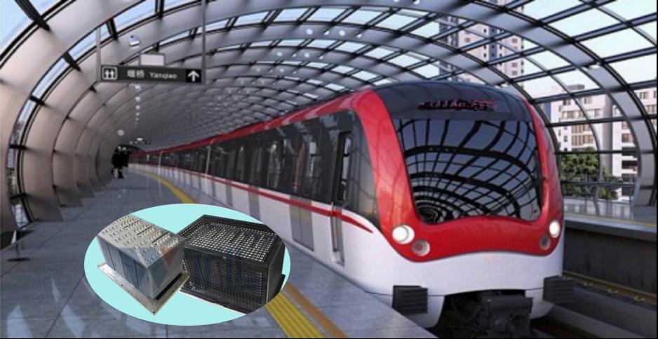 地铁车辆牵引控制装置VVVF逆变器、SIV辅助电源装置用热管散热器