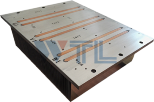 Stable heat pipe radiator