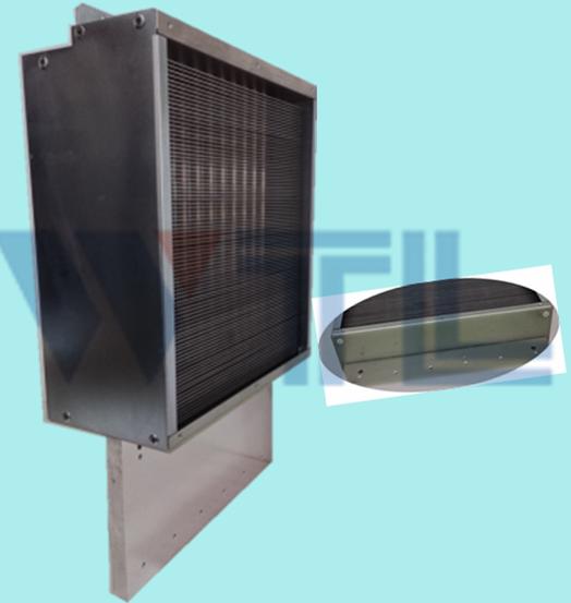 高速变频电梯用热管散热器