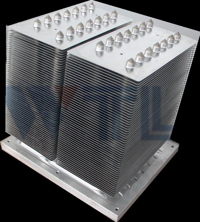 矿用防爆变频器用热管散热器