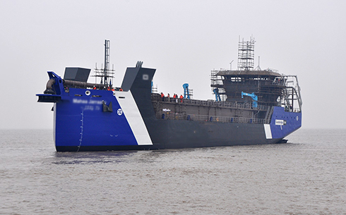 3700 m³ suction dredger
