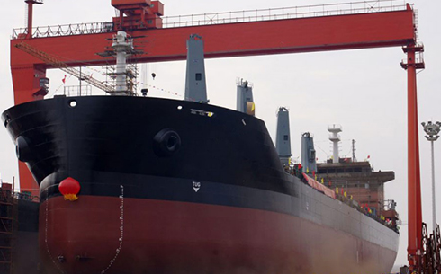 35,000 tons of bulk carriers
