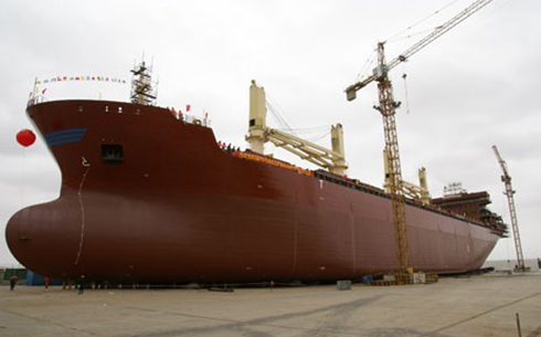 33,200 tons of bulk carriers