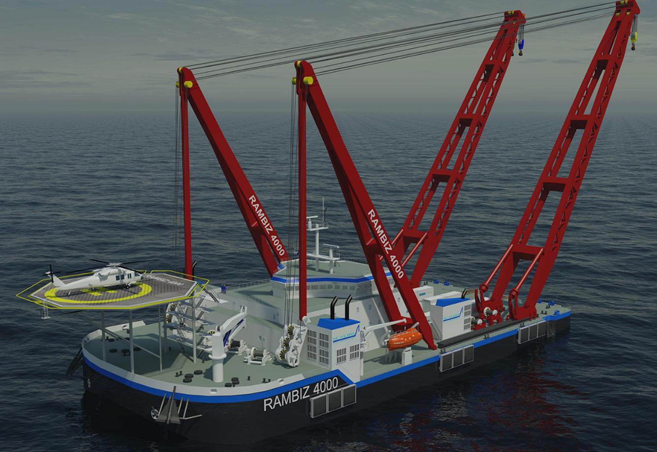 4000吨自航重吊起重船-上海瑞司倍