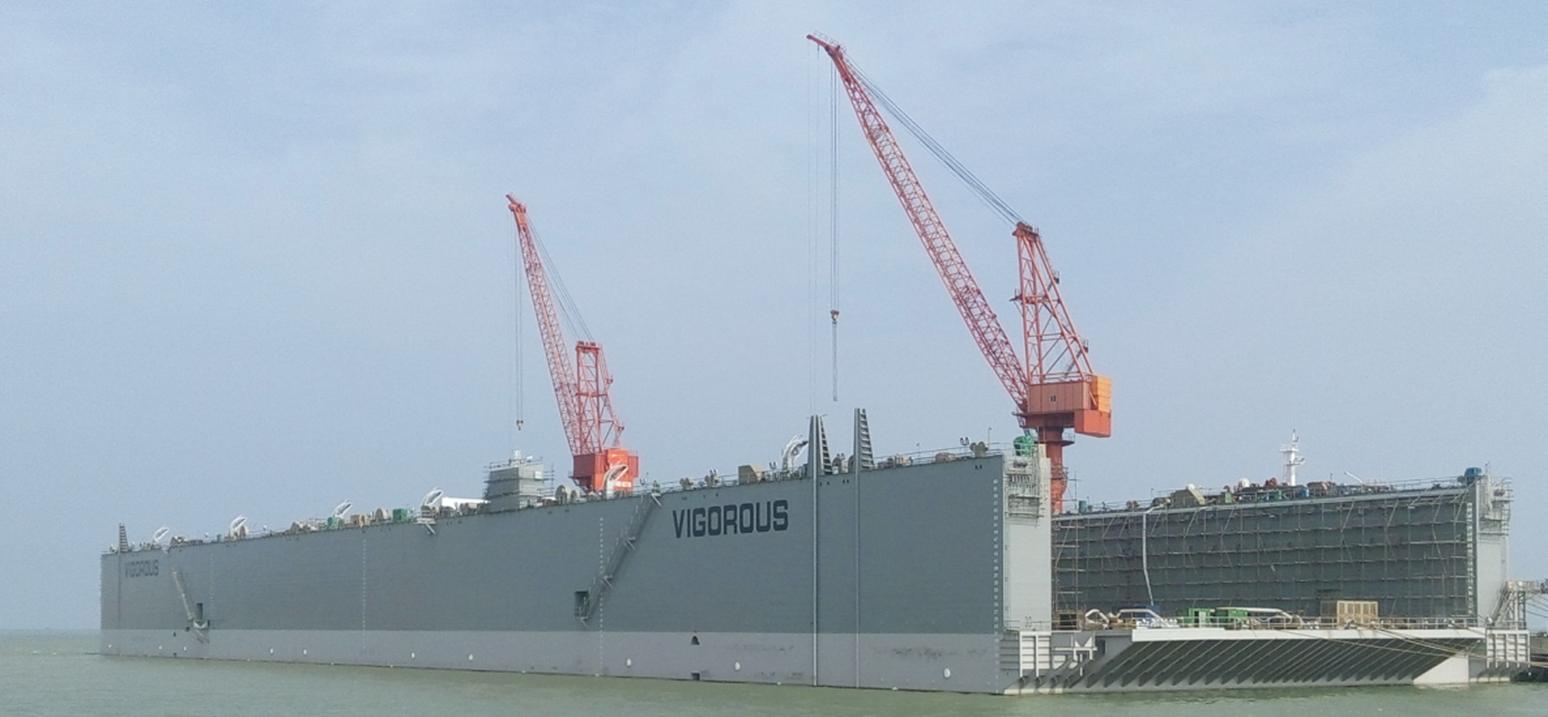 80000长吨浮船坞-上海ag棋牌
