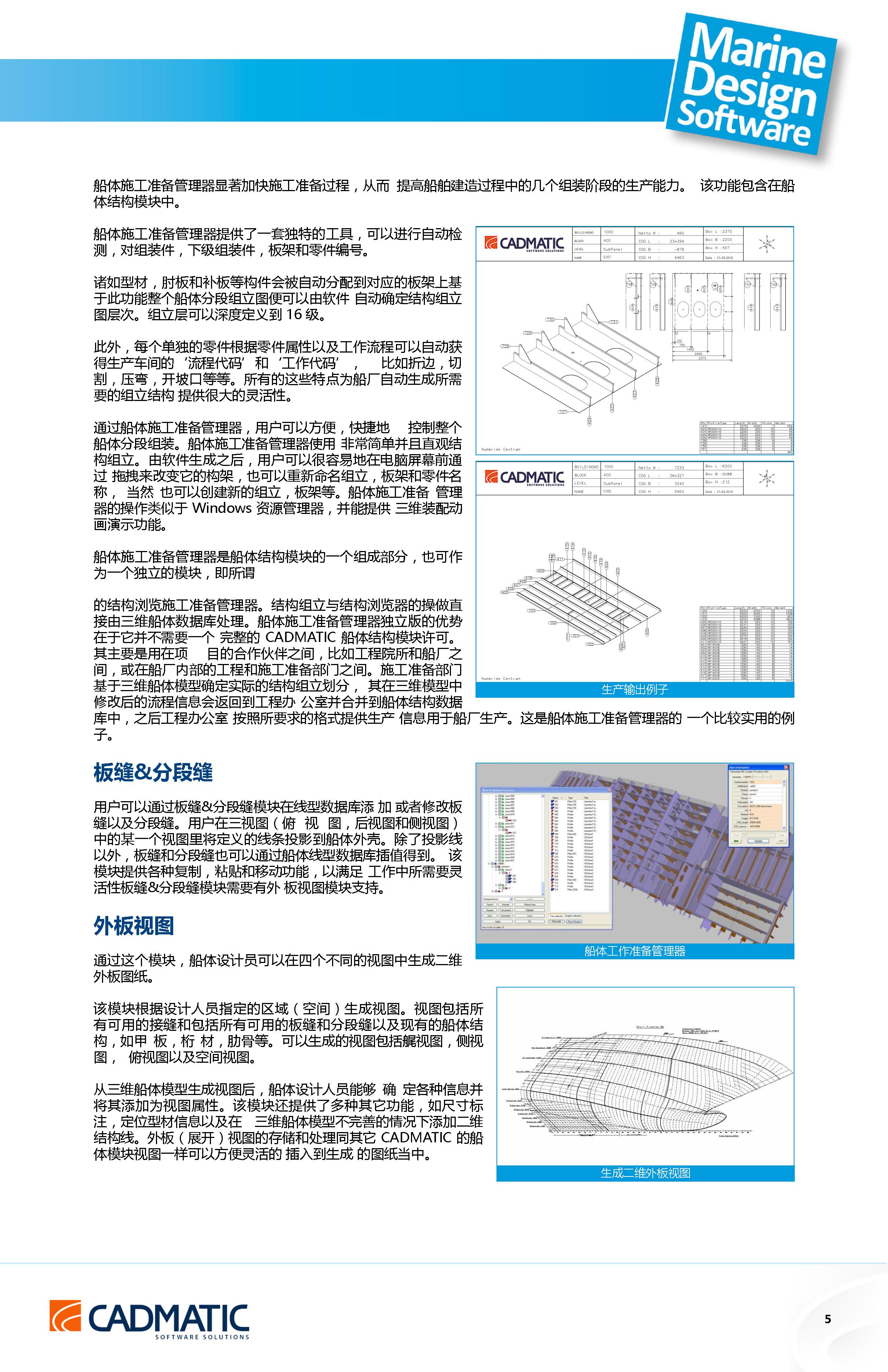 CADMATIC船体结构详细设计