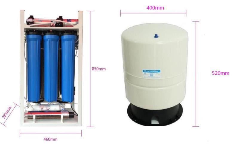 双管纳米净水器