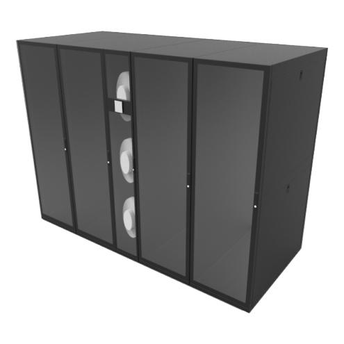 日月潭4SL1T205K列式微模块机房4个机柜位单机柜功率5KW