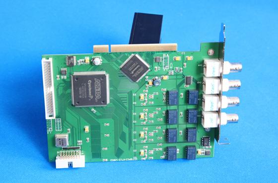 PCI4733-4通道 12位 50Msps模擬量輸入同步采集卡