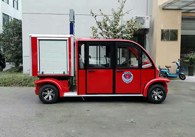 4座无水箱消防车LM-4NF