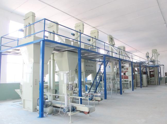 小麦种子生产设备