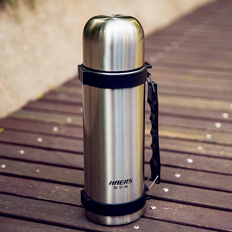 哈尔斯1200ml不锈钢真空保温旅行壶