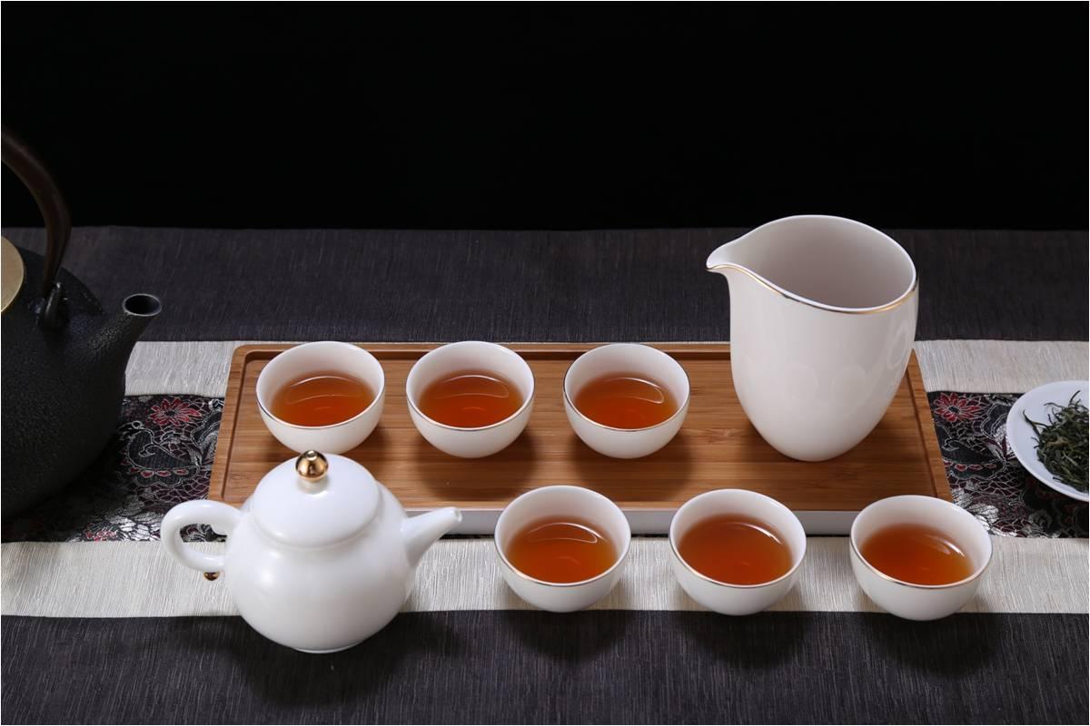 湖畔居 茶具套装如意随行便携装旅行茶壶整套茶具含茶盘