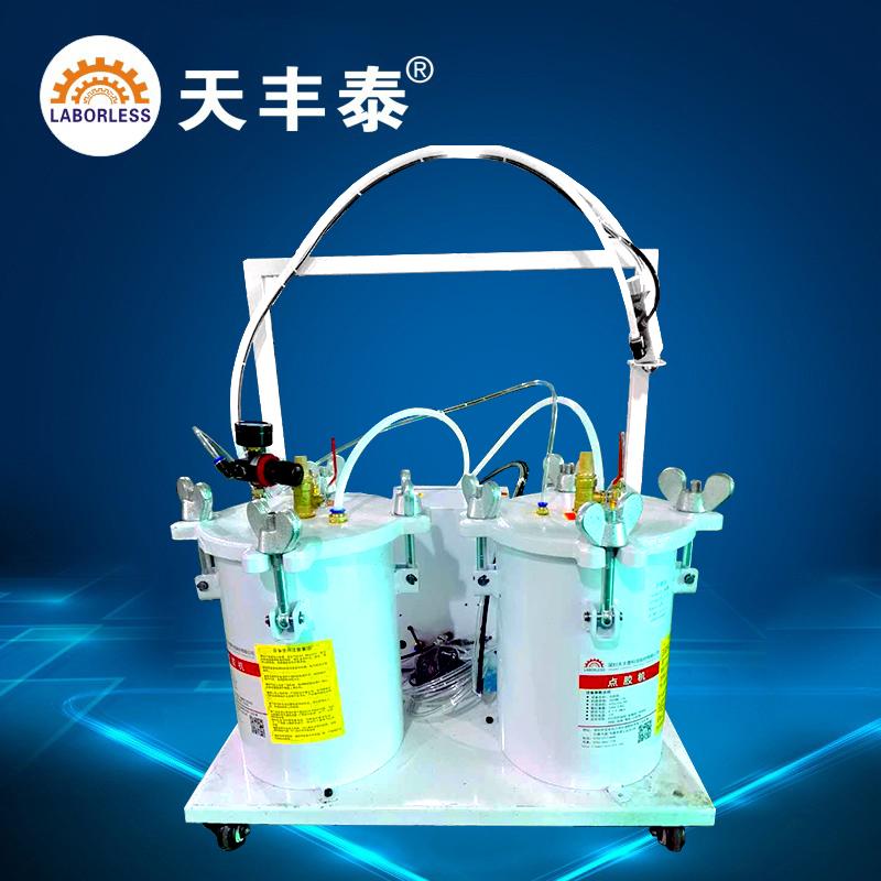 10LAB双组份自动灌胶机 双液自动点胶小流量灌胶机 硅胶环氧树脂