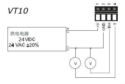 VT10 系列温湿度变送器