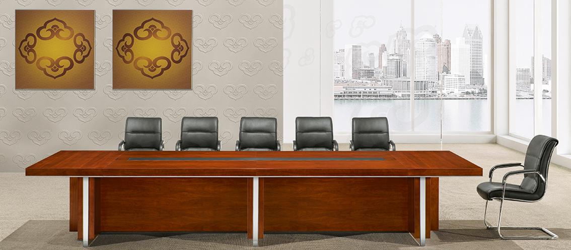 實木會議椅