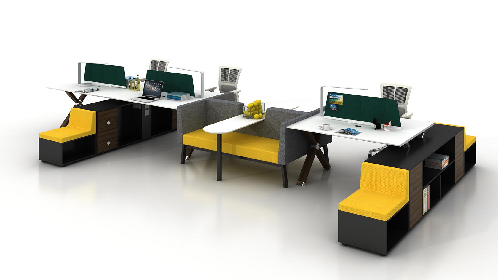 企業員工辦公桌