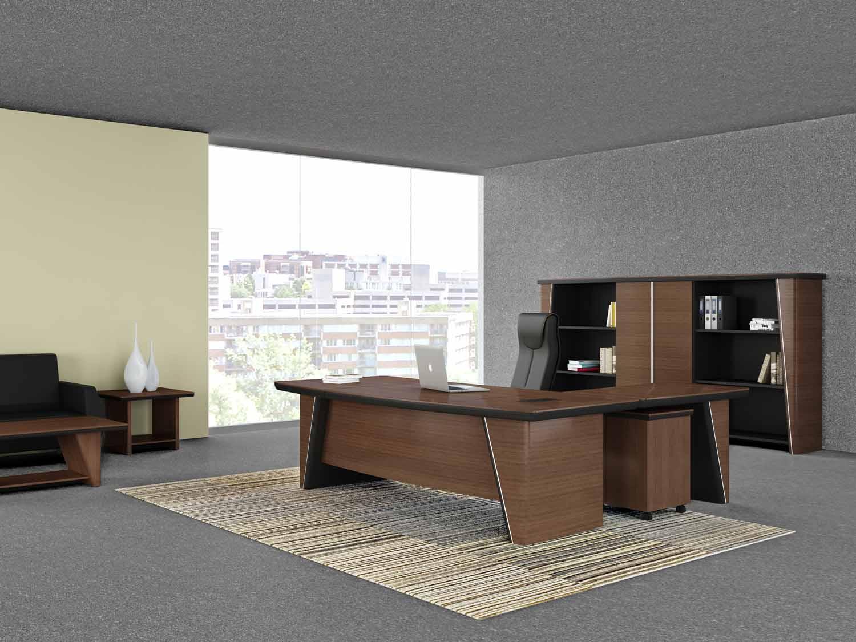 实木办公家具搭配的四大法则