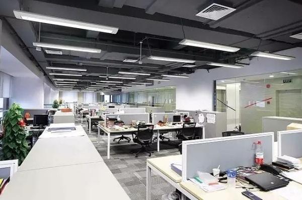 長春企業辦公家具公司分享照明設計