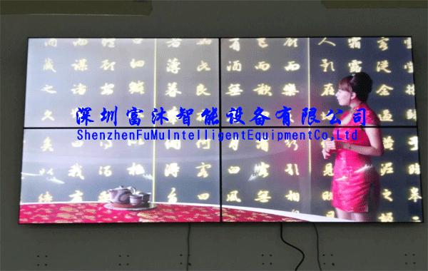 富沐液晶拼接屏走进暨南大学珠海校区