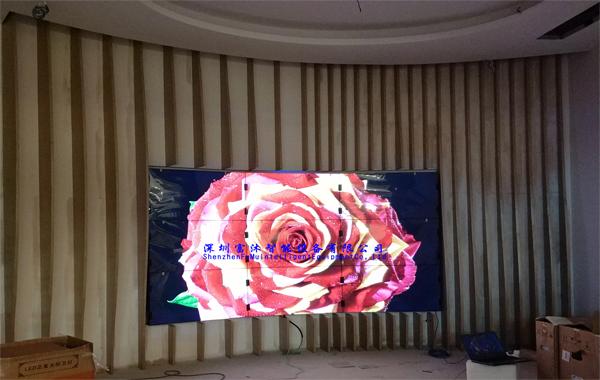 46寸拼接屏助力杭州万象汇展示平台