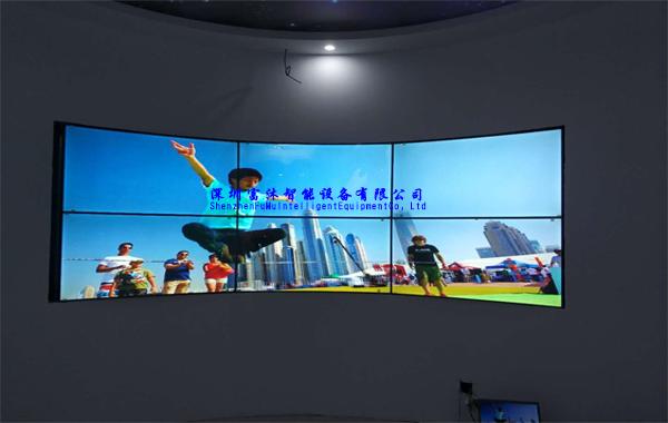 55寸拼接屏打造浙江台州天台人民法院展示项目