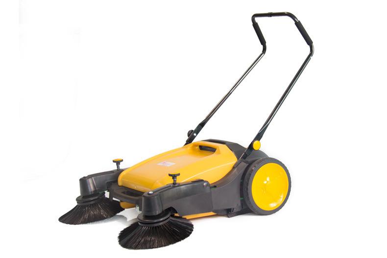 """CW-900T手推式扫地机—不用电的""""吸尘器"""""""
