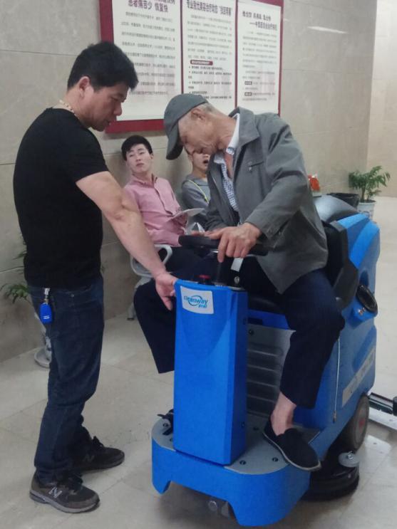 无锡金昌物业服务有限公司交机培训 无锡三院项目