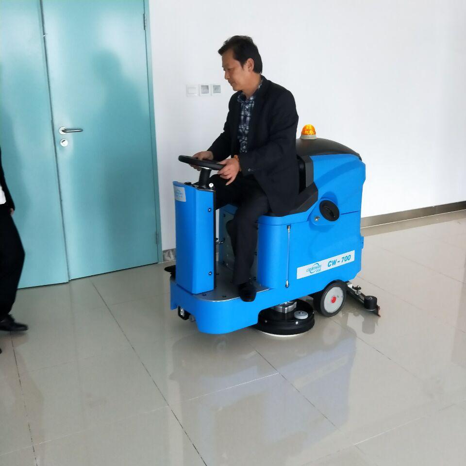宿迁市中医院全自动洗地机交机培训