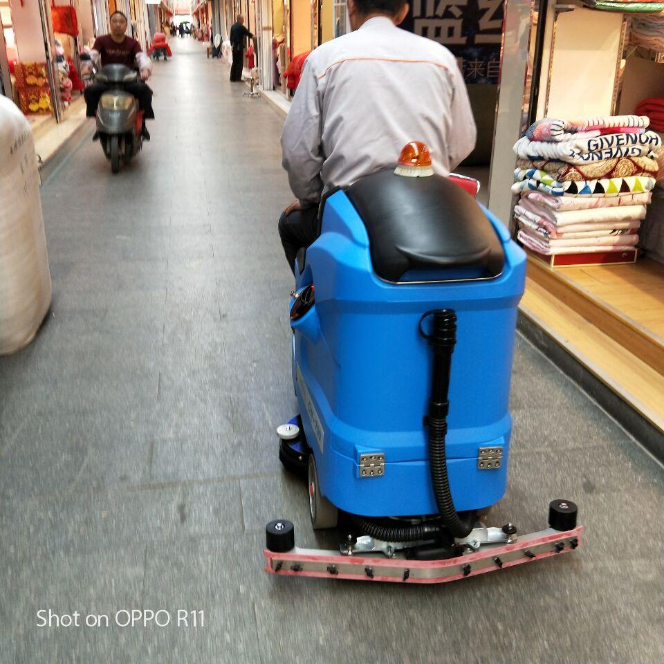无锡招商城科威驾驶式洗地机交机