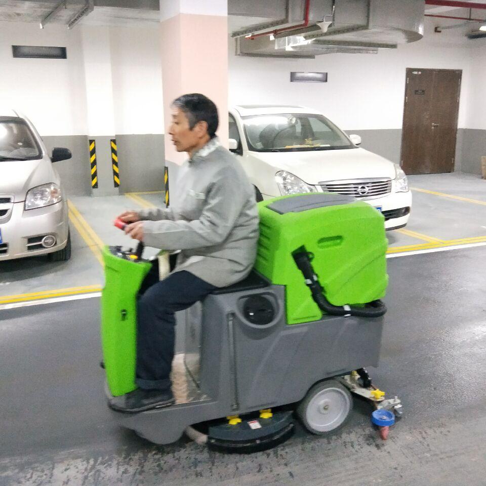 清洁之道驾驶式苹果彩票,地下车库都在用
