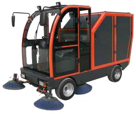CW-2400自动倒卸式清扫车