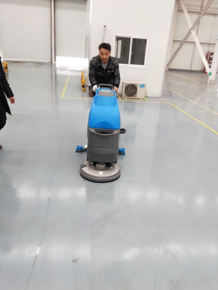 工厂环氧地坪保养选全自动洗地机