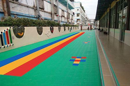 幼兒園操場懸浮地板