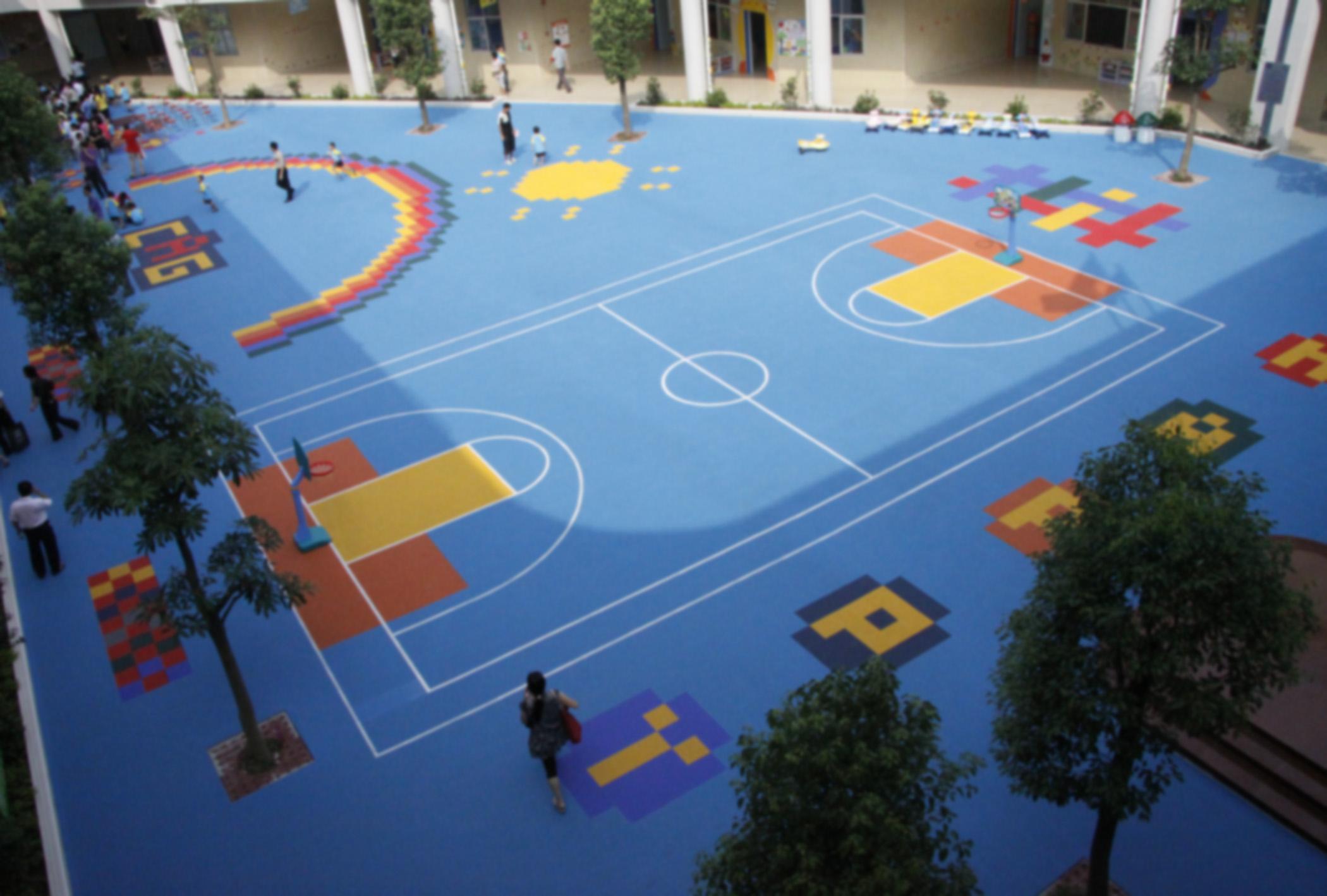 幼兒園運動懸浮拼裝地板