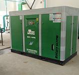橫店集團著名化學工廠納入我司132KW節能省電空壓機