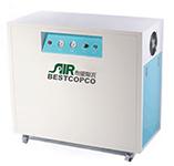 布里斯托BW-60全無油系列空壓機銷往中山市鮮之尊享智能科技有限公司
