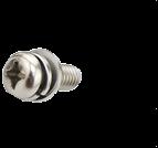 組合螺絲_十字槽小盤頭平彈墊組合螺釘_十字小盤頭三組合螺絲_GB/T 9074.8_碳鋼_不銹鋼_上海米揚緊固件