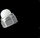螺母、嵌件系列_非金屬嵌件六角蓋型螺母_尼龍裝飾蓋型螺母_DIN986_M4-M24_碳鋼_合金鋼_不銹鋼_8級_10級_A2-70_A4-80_上海米揚緊固件