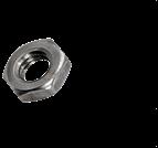 螺母、嵌件系列_左旋六角薄螺母_DIN439B LI_M1.6-M64_碳鋼_合金鋼_不銹鋼_8級_10級_A2-70_A4-80_上海米揚緊固件