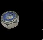 螺母、嵌件系列_非金屬嵌件六角鎖緊螺母_六角尼龍防松螺母_薄型_DIN985_ISO 10511_M3-M48_碳鋼_不銹鋼_8級_10級_12級_A2-70_A4-80_A4-100_上海米揚緊固件