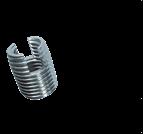 螺母、嵌件系列_開槽型自攻自切螺紋嵌套_自攻牙套_302型_303型_碳鋼_不銹鋼_黃銅_上海米揚緊固件