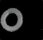 墊圈、擋圈_鞍型彈簧墊圈_鞍型彈墊_DIN127 A_DIN128 A_GB/T 7245_d2-100_碳鋼_彈簧鋼_不銹鋼_上海米揚緊固件