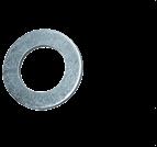 墊圈、擋圈_平墊圈_圓柱頭螺釘用_DIN433_ISO 7092_碳鋼_不銹鋼_d1-36_上海米揚緊固件