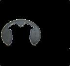 墊圈、擋圈_軸用卡環_德標_DIN6799_d0.8-30_碳鋼_彈簧鋼_不銹鋼_上海米揚緊固件