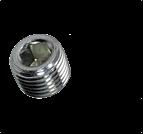 其它標準緊固件_內六角無頭堵頭_M螺紋_DIN906 M_M8-M60_碳鋼_不銹鋼_上海米揚緊固件